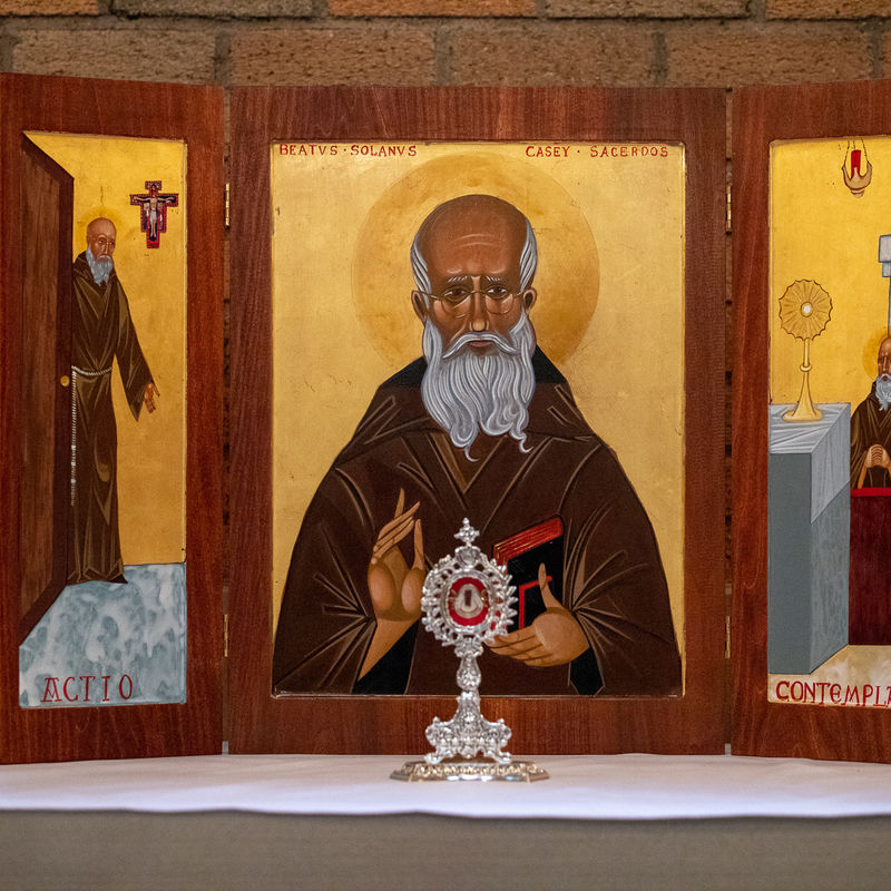 9 Blessed Solanus Triptych