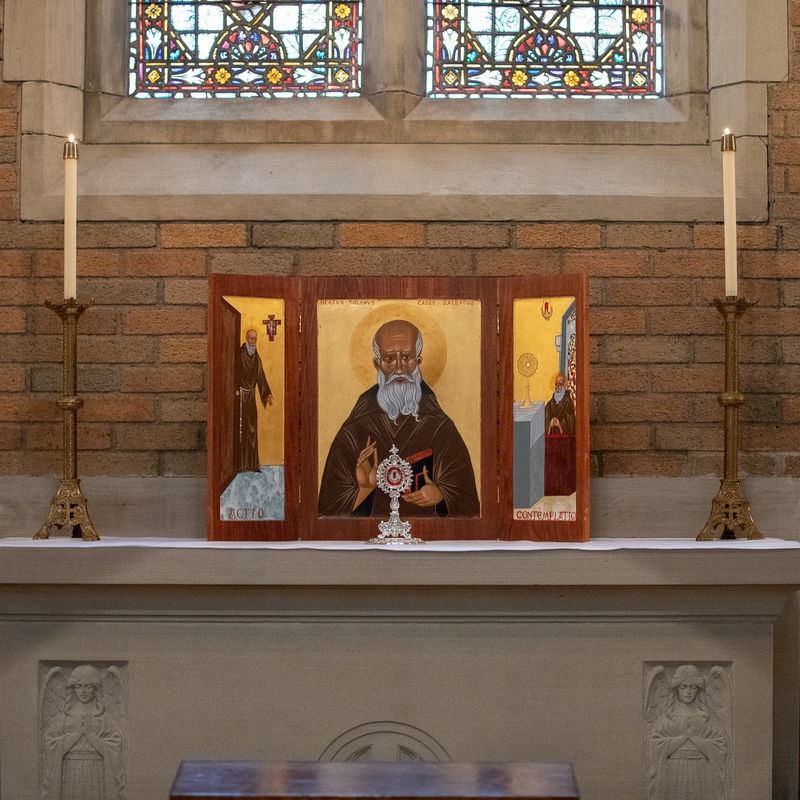 10 Blessed Solanus Triptych