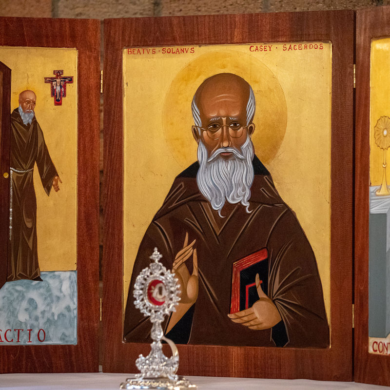 12 Blessed Solanus Triptych