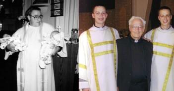 Koenigsknechtwins and Fr. Bill