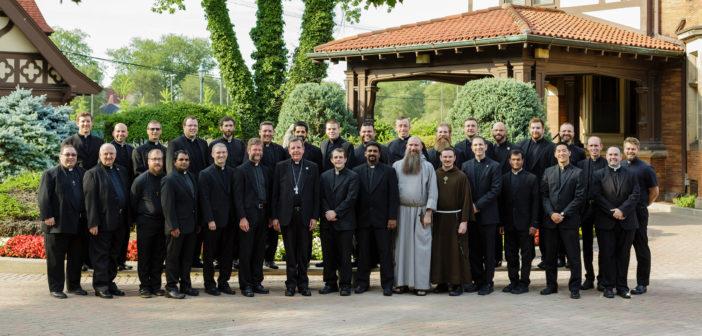 Thirty-six Priests Begin Summer STL Studies