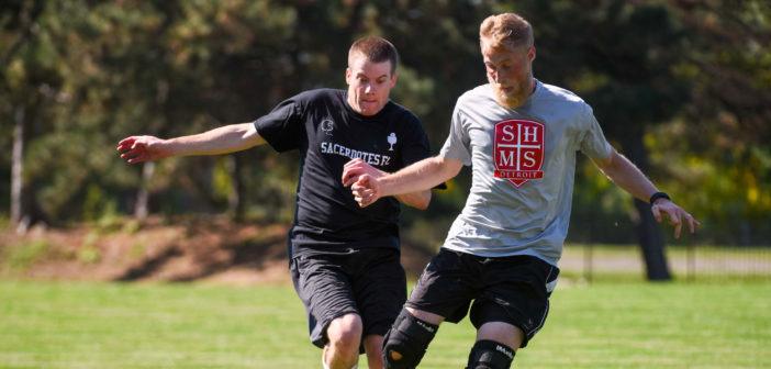 Victors! Seminarians Win First Soccer Meet