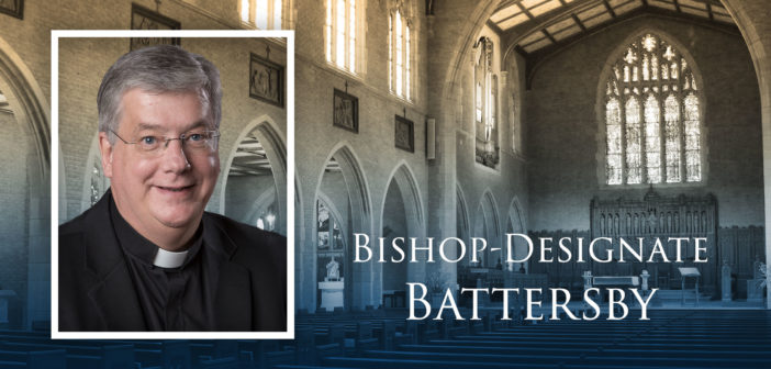 Vice Rector Father Battersby to be Ordained Detroit Auxiliary Bishop
