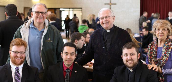Lenten Visits Bring Blessings